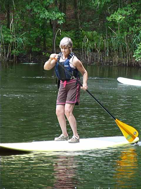 I decided to try Stand Up Paddling in my 60's. What a great discovery. It makes me feel 10 years younger.