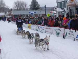 2011 Can Am International Sled Dog Race.   Photo by Kevin Powers