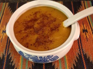 Butternut Squash and Apple Soup Recipe